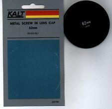 KALT 62 62mm Metal Front lens cap - MADE in Japan - BRAND NEW