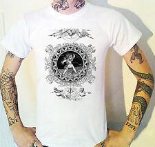 victorian CARNE trembleth Grabado Camiseta Victoriana DEATH DEMON Horror
