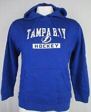 Tampa Bay Lightning Rink Side Pullover Hoodie Sweatshirt Royal Blue NHL XL 2XL