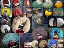Vintage-laine, mixte-fils, alpaca, cachemire, Anny Blatt, Lana Grossa, Gedifra. grinasco