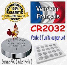 Piles VARTA Lithium 3V : CR2032 V. BULK ( à l'unité ou lot de 2 5 10 20 50 100 )