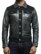 Vintage Distressed Leather Jackets   Brandslock Distressed Leather Biker Jackets