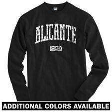 Alicante Spain Long Sleeve T-shirt LS - Espana Hercules Valencia  - Men / Youth