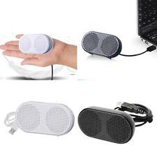 Computer Speaker USB Multimedia Laptop Desktop Subwoofer w/ 2CH Stereo Sound