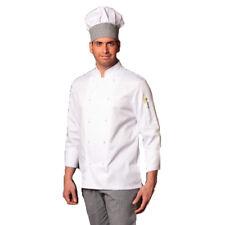 Chaqueta camisa holgada cocinero cocina restaurante catering en blanco uniforme