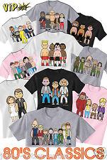 Vipwees Childrens Unisex T-Shirt 80' S Classico film ispirato scegli il design