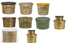 Gold Label Waterproof Wax, Saddle Soap, Hide Food,Dubbin Black Natural & Brown,
