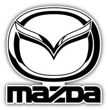Mazda Combo Logo Auto Car Bumper Sticker Decal - 9'', 12'' or 14''