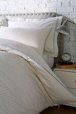 Duvet Cover & Pillowcase Set 100% Cotton Apache White/Natural