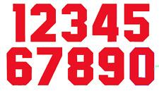 Felt England 1982 Football Shirt Soccer Numbers Heat Print World Cup Jersey Iron