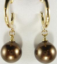 10mm Lady Women Earring Sea Shell Pearl Dangle Earrings Gift Earring New Jewelry