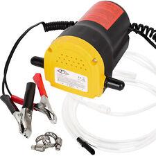 Pompe éléctrique à vidange extraction huile diesel aspiration kit auto 12V 60W