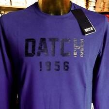 T-shirt maglia uomo Datch manica lunga a girocollo con stampa logo art DM454