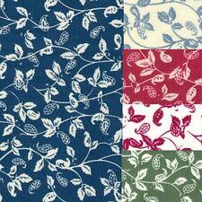 100% Cotton Poplin Floral Fabric - Leaf - 350 - ON SALE REDUCED
