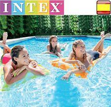 Comoda colchoneta hinchable para playa o piscina sillon flotador intex