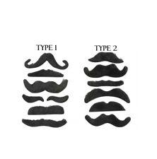 6PC Stick moustache Set Nouveauté costumes Thundercats Déguisement poils du visage