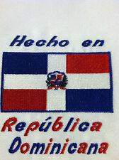 Hecho en Republica Dominicana Baby Bodysuit  Embroidered