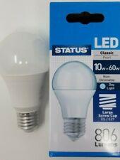 10w = 60w LED GLS Light Bulbs Lamp ES Edison Screw In E27 DayLight White 6500K
