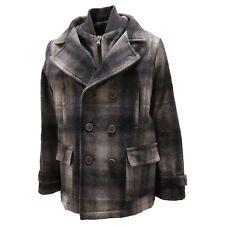 5857P cappotto bimbo quadri ARMANI JUNIOR jackets coats kids