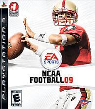 NCAA Football 09 (Sony PlayStation 3, PS3) - BRAND NEW