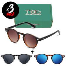 Tres gafas de sol TWIG Pack MENDEL [Premium] hombre/mujer redondas vintage