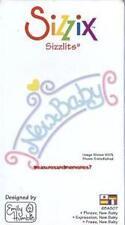 Sizzix Sizzlits PHRASE, NEW BABY 654807 So Cute! HEART