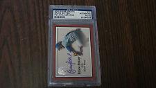 Bruce Sutter Autograph 2000 Fleer Greats GOTG # 17 card Atlanta Braves PSA