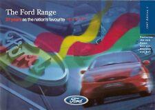 Ford 1997-98 UK Market Brochure Ka Fiesta Escort Puma Mondeo Scorpio Galaxy