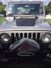 Blackout Hood Decal for Jeep military Wrangler graphics tj cj universal v15