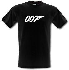 JAMES BOND 007 Classic Logo Cult Film Heavy Cotton t-shirt **ALL SIZES/COLOURS**