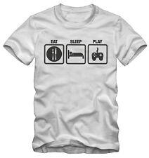 T-shirt / Maglietta Eat Sleep Play Kraz Shop