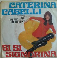 """7"""" 1969 rare! Caterina Caselli: si si signorina/vg + \"""
