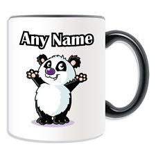 Personalised Gift Waving Panda Mug Money Box Cup Animal Design Cute Zoo Bamboo