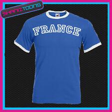 France Ringer T-Shirt Drôle Rétro