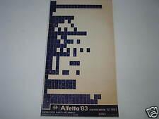 Mikrofilm Microfiche Planfilm Alfa Romeo Alfetta '83 v. 12/1983 Karosserie