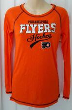 PHILADELPHIA FLYERS Girls Jersey Shirt Sizes Small 6/6x to XL 14/16 Glitter Logo