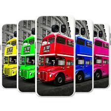 Londres Doble Decker Autobús Snap-On teléfono Funda Rígida posterior Cubierta para Teléfonos SAMSUNG