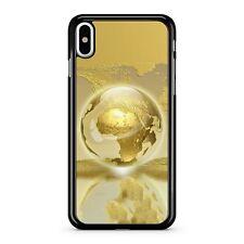 Glamorous Golden Glorious Elegant Stylish Cool Sleek Globe Fine Phone Case Cover