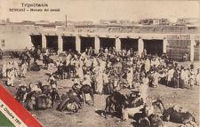 #TRIPOLITANIA: BENGASI- MERCATO DEI CEREALI- SERIE 3a- 1911