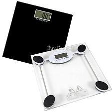 180KG DIGITALE ELETTRONICA LCD VETRO PESO BODY SCALE BAGNO aiuta a perdere grasso