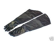"""31"""" Long Heavy Duty Rubber Coated Work Gloves"""