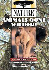 Nature: Animals Gone Wilder! (DVD)    NEW