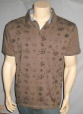 POINT ZERO Skater Skateboarding Polo Golf Collared Shirt Brown Men's Sizes