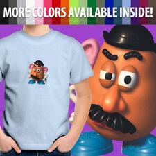 Mr. Potato Head Toy Story Andy Buzz Woody Friend Unisex Kids Tee Youth T-Shirt