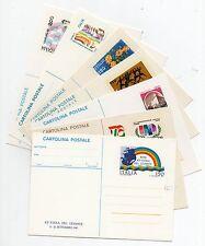 1977 ITALY REPUBBLICA 7 CARTOLINE POSTALI NUOVE B/6991