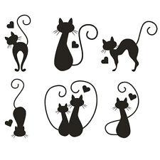 * 1 planche de stickers Chats + Coeurs *