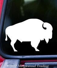 """BISON BUFFALO Vinyl Decal Sticker 5"""" x 3.5"""" Wisent Prairie Animal"""