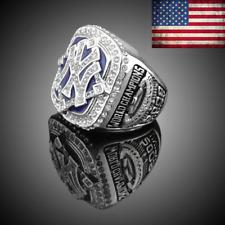 2009 New York Yankees Championship Ring Derek Jeter World Series Size 8-14