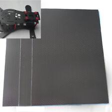 Real 3K Carbon fiber board plate sheet panel 1~5mm(T)  200*250/200*300/400*500mm