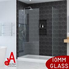 *Ship Australia Wide*10mm Safety Glass Frameless Shower Screen Fixed  Panel